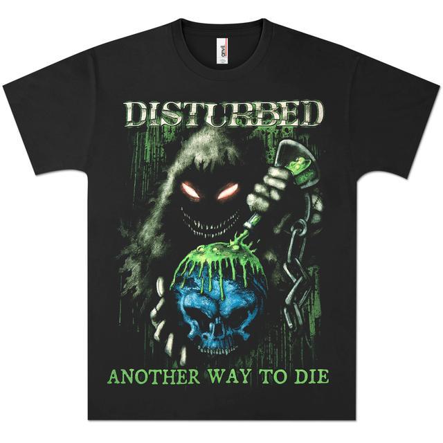 Disturbed Toxic Globe T-Shirt