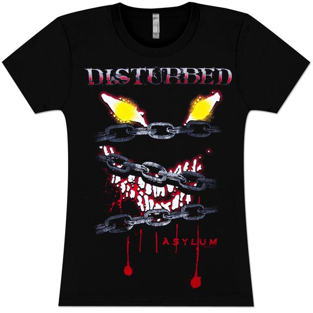 Disturbed Locked Up Girlie T-Shirt