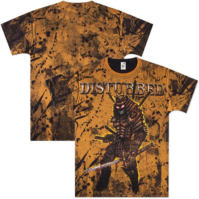 Disturbed Warrior All Over T-Shirt
