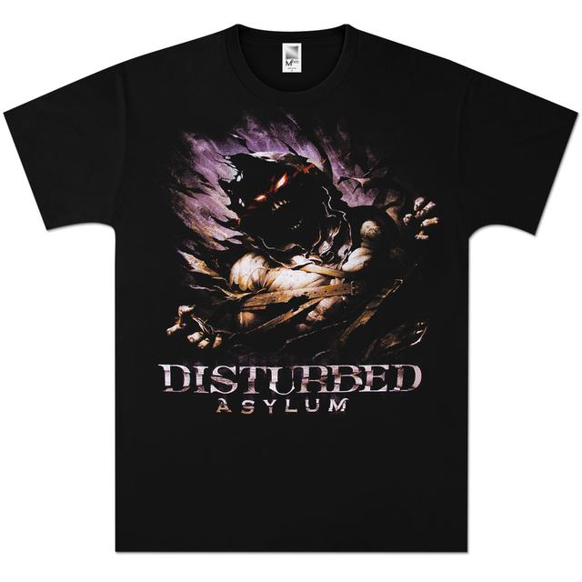 Disturbed Asylum Big Fade T-Shirt
