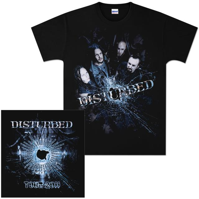 Disturbed Bullet Proof 2011 Tour T-Shirt