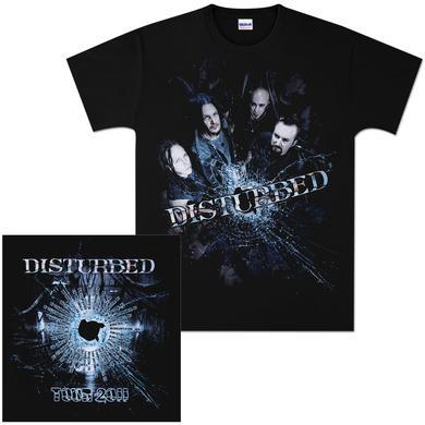 Disturbed Bullet Proof 2011 Tour T-Shirt