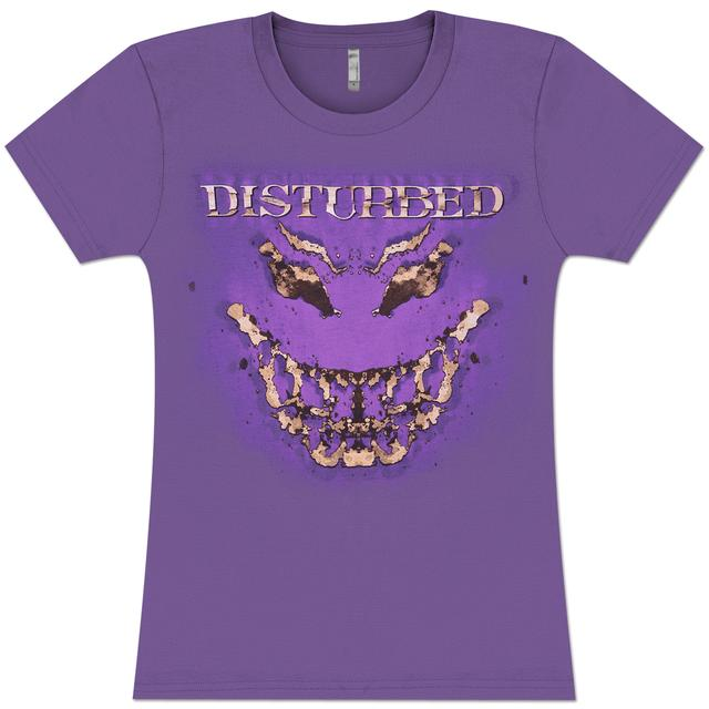 Disturbed In Your Face Juniors T-Shirt