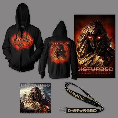 Disturbed Immortalized Hoodie Bundle