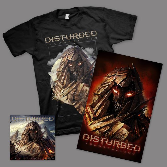 Disturbed Immortalized T-Shirt Bundle