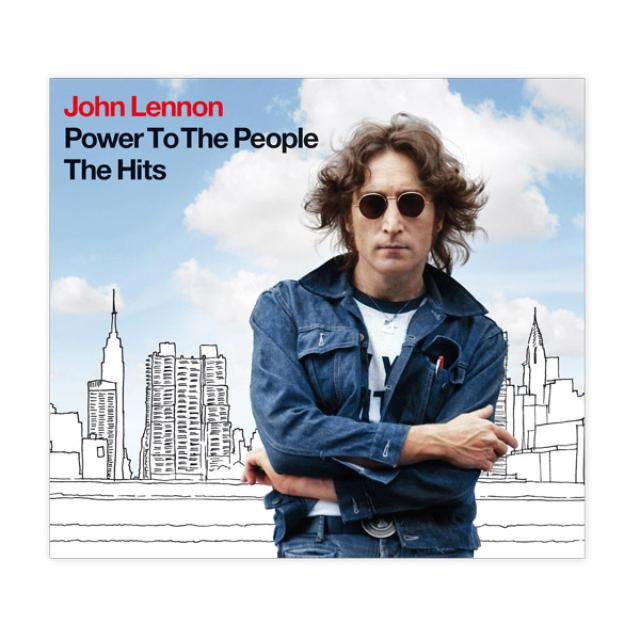 John Lennon Power To The People: The Hits (CD)