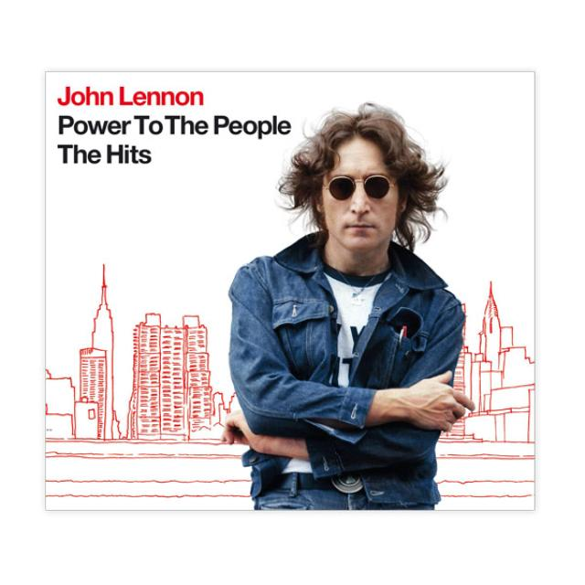 John Lennon Power To The People:  The Hits (CD/DVD)