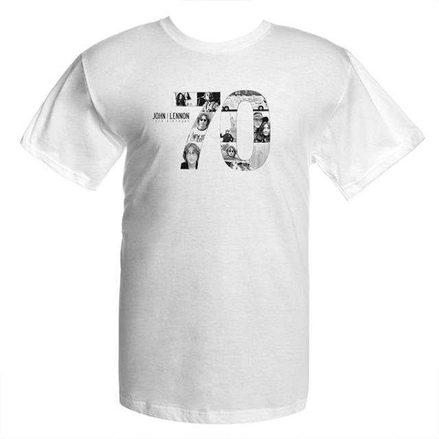 John Lennon 70th Logo T-Shirt