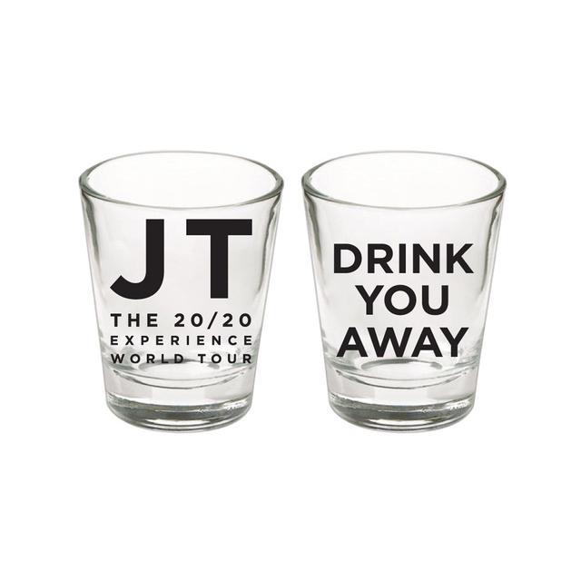 Justin Timberlake Drink You Away Shot Glass