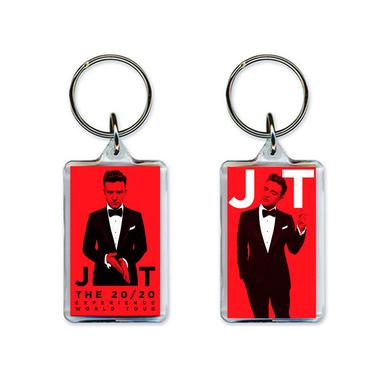 Justin Timberlake The 20/20 Experience Red Hot Key Chain