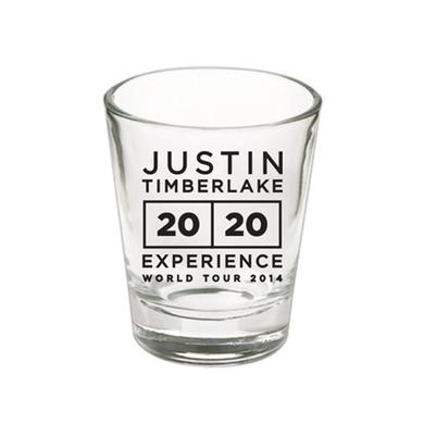 Justin Timberlake World Tour 2014 Shot Glass