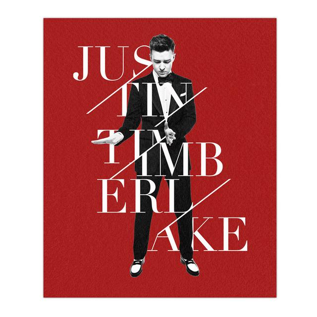 Justin Timberlake All Bundled Up Blanket