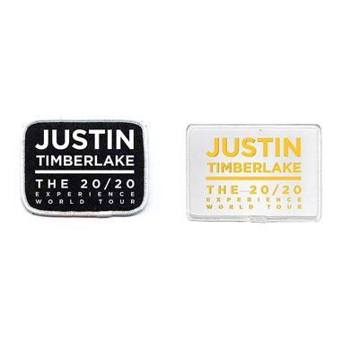 Justin Timberlake 20/20 World Tour Patch Set
