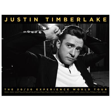 "Justin Timberlake The 20/20 Experience World Tour """"Not A Bad Thing"""" Collector's Poster"