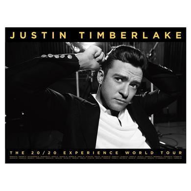 """Justin Timberlake The 20/20 Experience World Tour """"""""Not A Bad Thing"""""""" Collector's Poster"""
