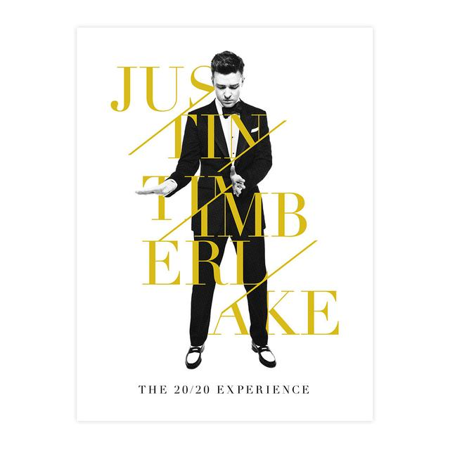 Justin Timberlake Limted Edition Suit and Tie Lithograph