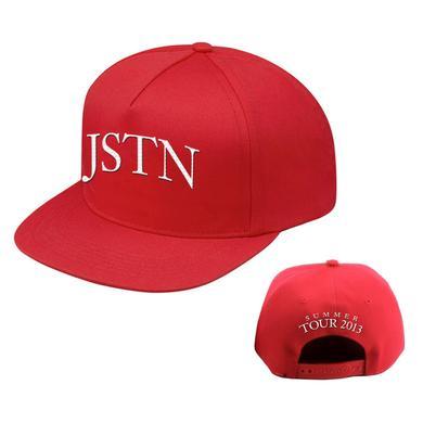 Justin Timberlake Red JSTN Hat