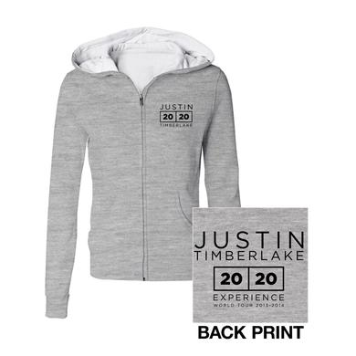 Justin Timberlake The 20/20 Experience World Tour Classic Gray Jrs Hoodie