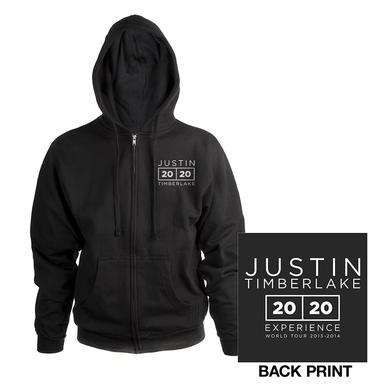 Justin Timberlake The 20/20 Experience World Tour Classic Black Hoodie