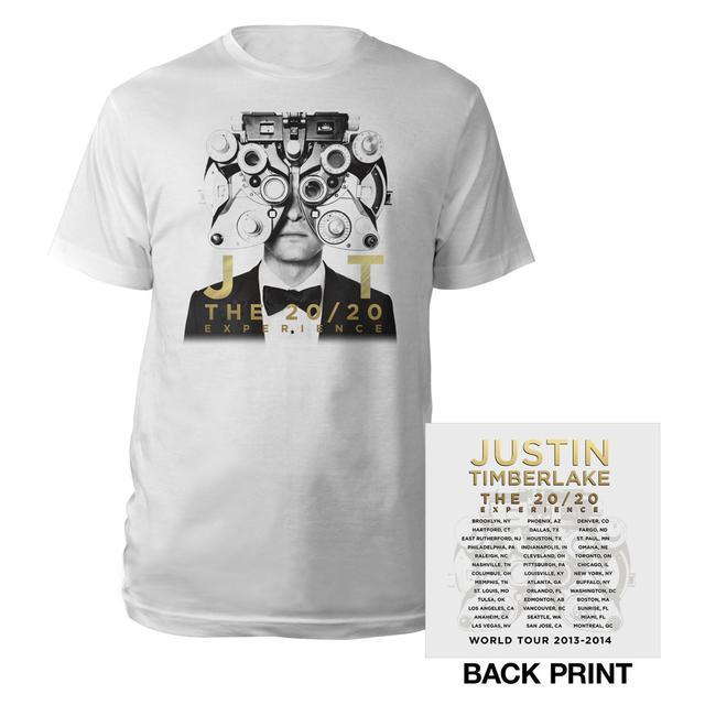 Justin Timberlake 20/20 Vision Classic Gold T-Shirt