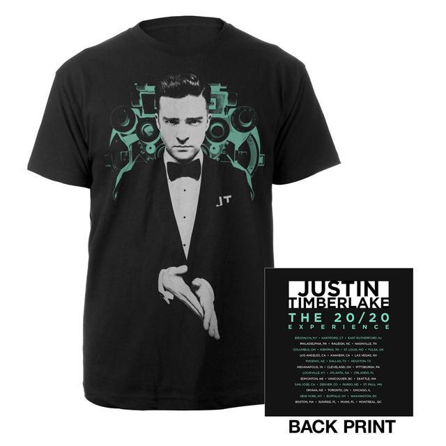 Justin Timberlake Full Color Vision T-Shirt