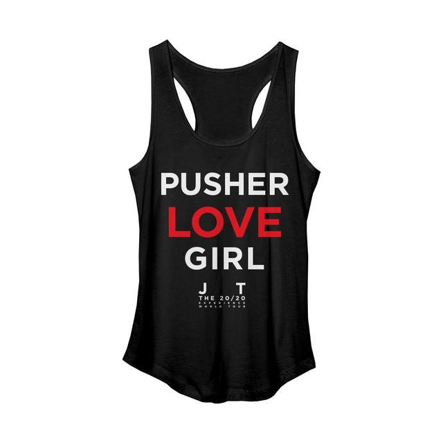 Justin Timberlake Pusher Love Soft Black Tank