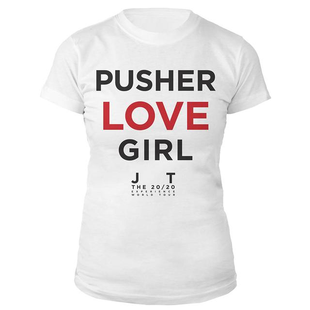 Justin Timberlake Pusher Love Girl Baby Doll Tee