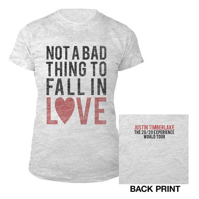 Justin Timberlake Not A Bad Thing Tee