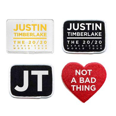 Justin Timberlake Justin's 20/20 Experience Badge Collection