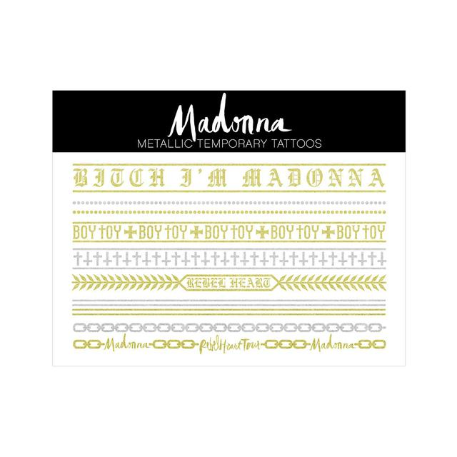Madonna Metallic Tattoos