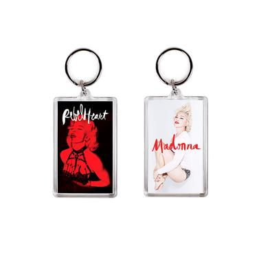 Madonna Rebel Heart Keychain