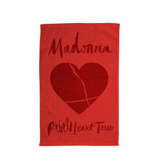 Madonna Rebel Heart Tour Towel