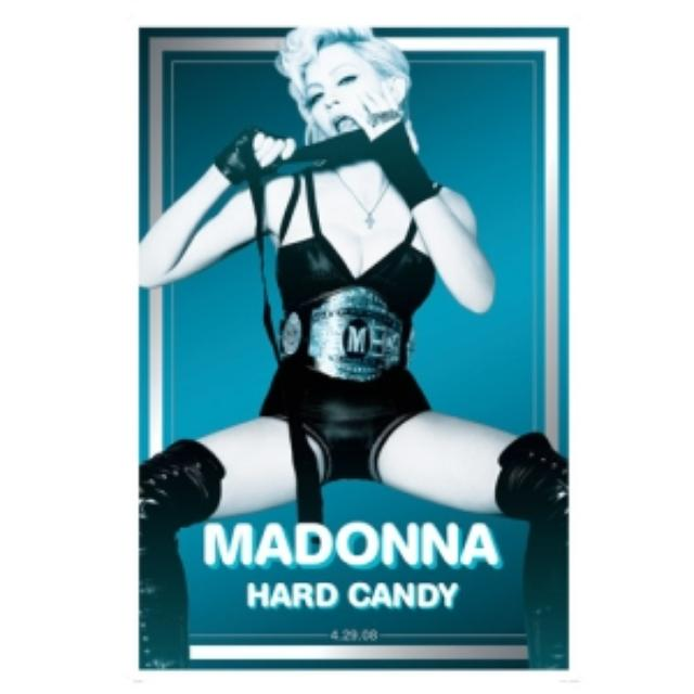 Madonna Official Hard Candy Lithograph. Limited Collector's Edition 1/500
