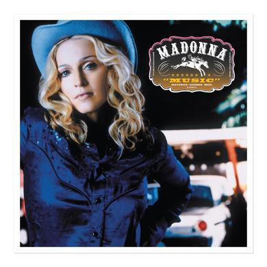 Madonna Official Music Album Cover Lithograph. Limited Collector's Edition 1/1000