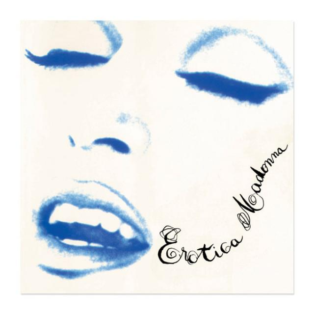 Madonna Official Erotica Album Cover Lithograph. Limited Collector's Edition 1/1000