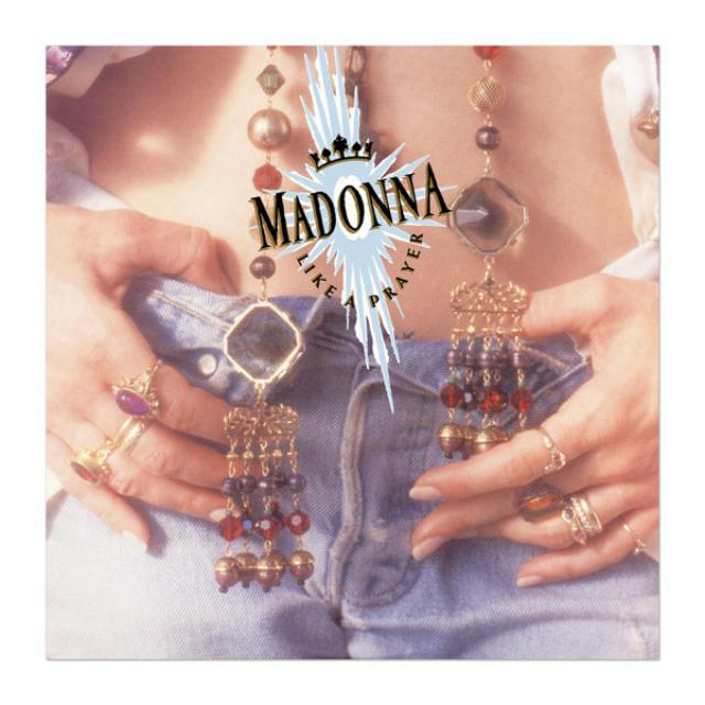 Madonna Official Like A Prayer Album Cover Litho