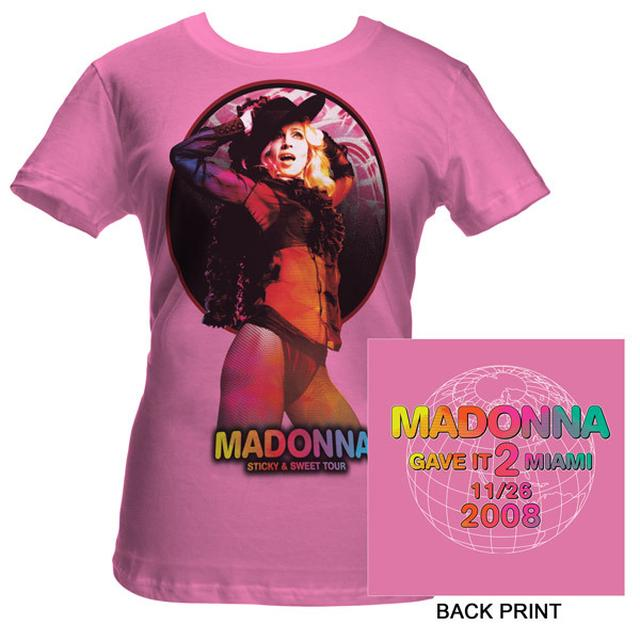 Madonna Give It 2 Me Miami Event Babydoll