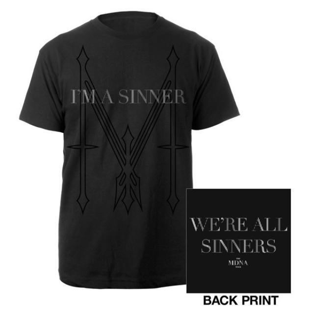 Madonna I'm a Sinner Men's Shirt