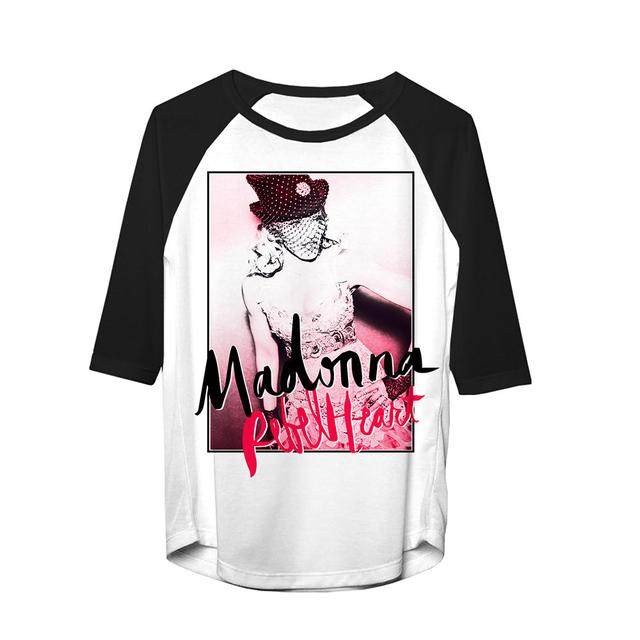 Madonna Rebel Heart Raglan