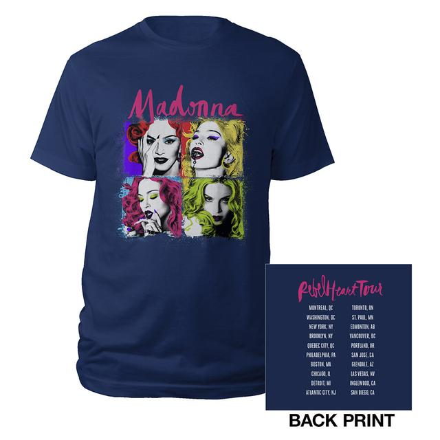 Madonna Pop Art Tour Tee