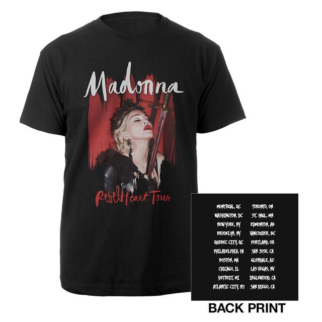Madonna Rebel Heart Tour Tee
