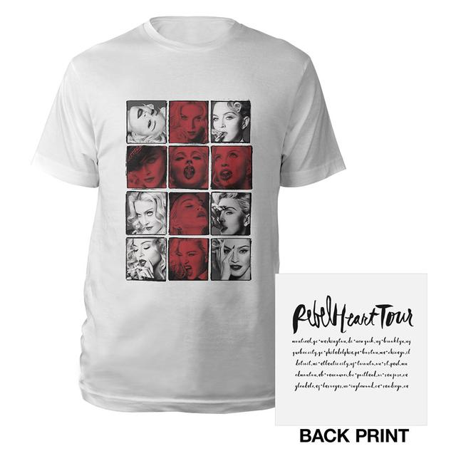 Madonna Cross Photo Tour Tee