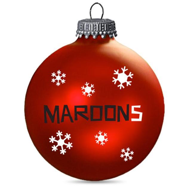 Maroon 5 Holiday Ornament