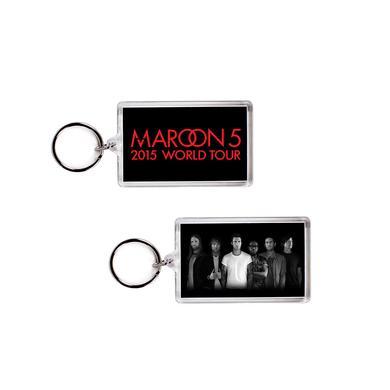 Maroon 5 Maroon V Tour Keychain