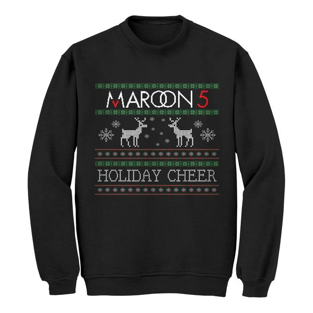 Maroon 5 Reindeer Ugly Christmas Sweater
