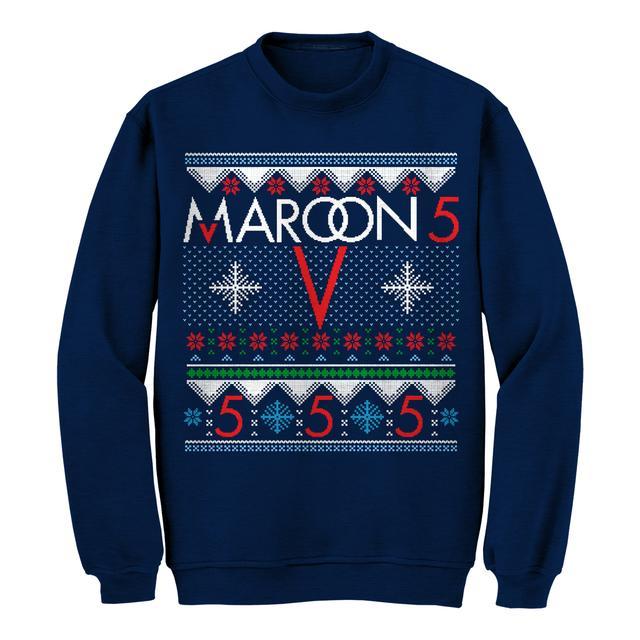Maroon 5 Snowflake Ugly Christmas Sweater