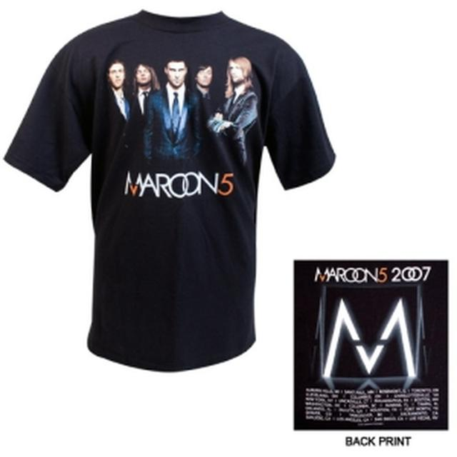 Maroon 5 Official 2007 Fall Tour Tee