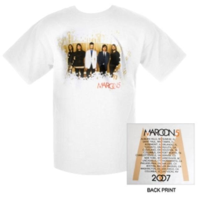 Maroon 5 Ad Mat Tour Tee