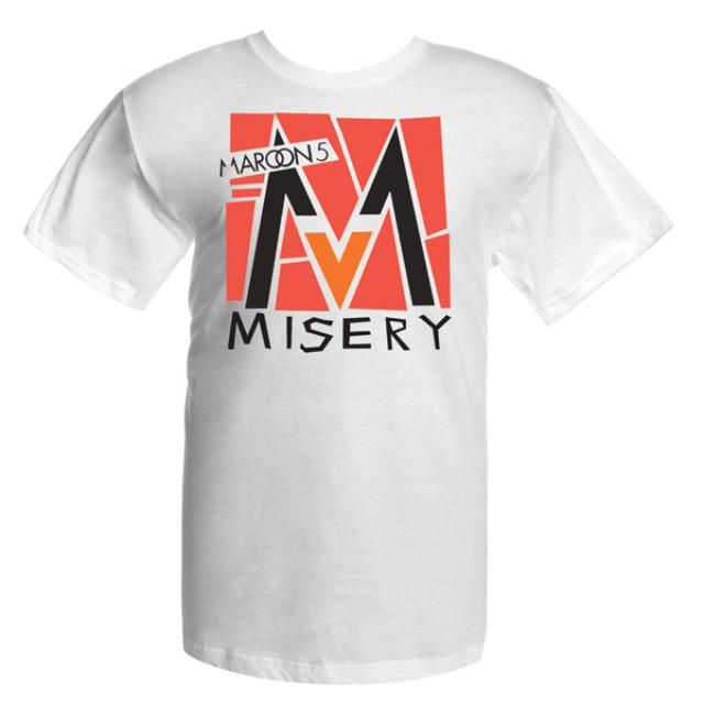 Maroon 5 Misery T-Shirt