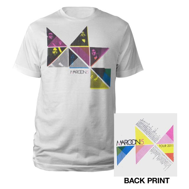 Maroon 5 2011 Triangle Tee